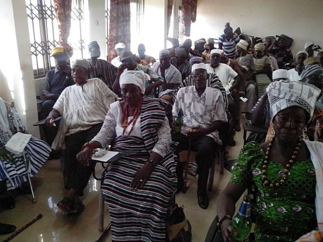 Retirees Salute Bunkpurugu/Yunyoo District Assembly