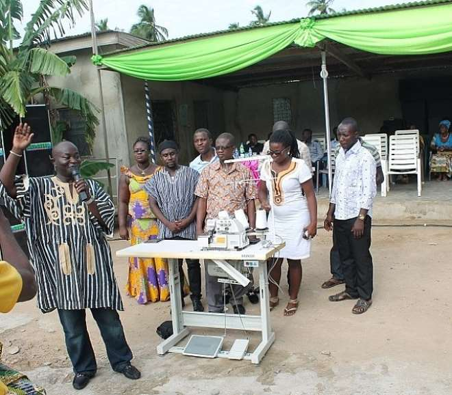 Nadeco Association Of Ghana Donates To People Of Central Region