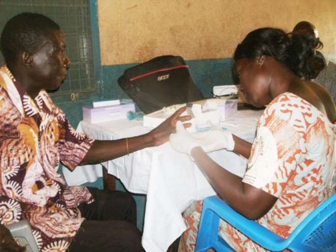 Peace And Love Ladies Club Holds Free Medical Screening