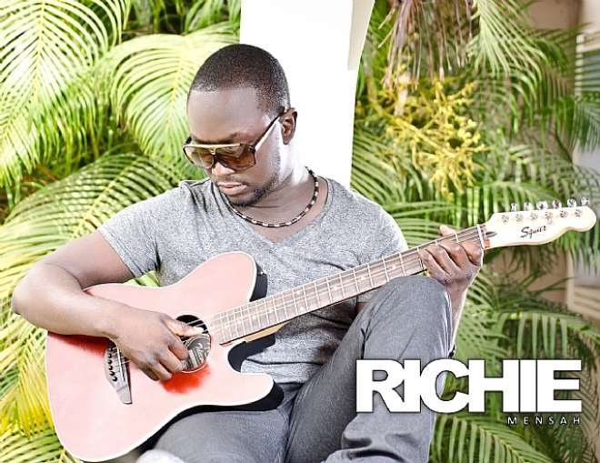 "RICHIE MENSAH  IS SIZZLING IN NEW PHOTOSHOOT FOR ""AWULA"""
