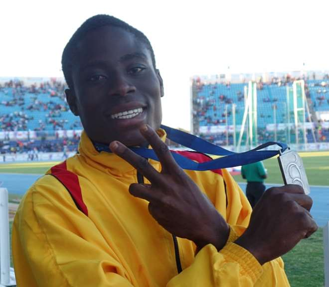 Ghanas Precious Attipoe Wins Silver Medal At Africa Youth Games