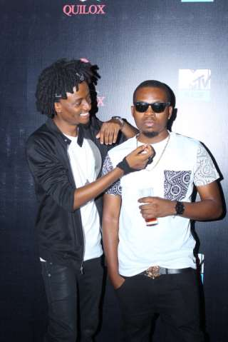 OLAMIDE, BANKY W, DR SID, OTHERS TURN UP AS MTV CELEBRATES OLAMIDE AS ARTISTE OF THE MONTH.