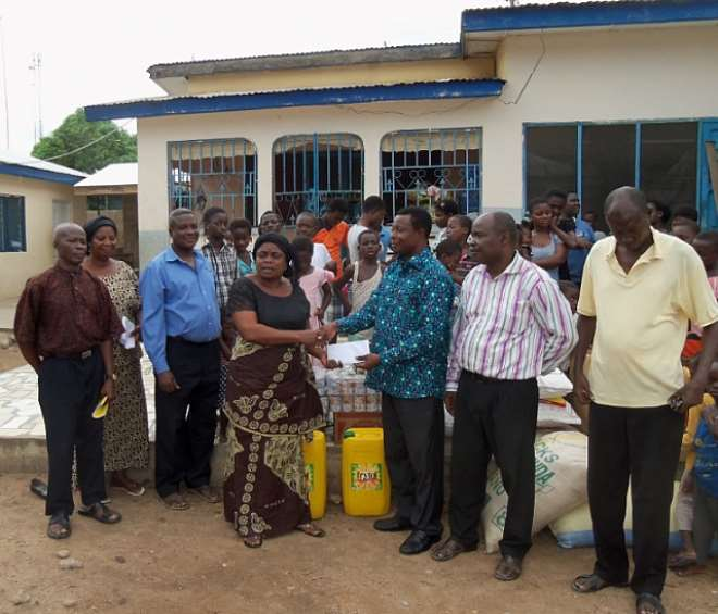 The Lord's Pentecostal Church Supports Countryside Children Home