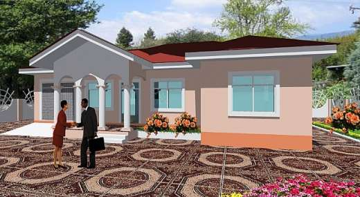 Estate houses in ghana for Home designs ghana