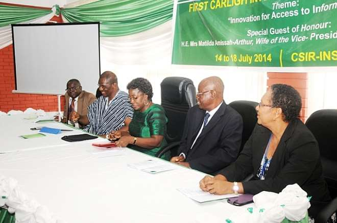 Second Lady Calls On Librarians To Be Innovative In Accessing Information