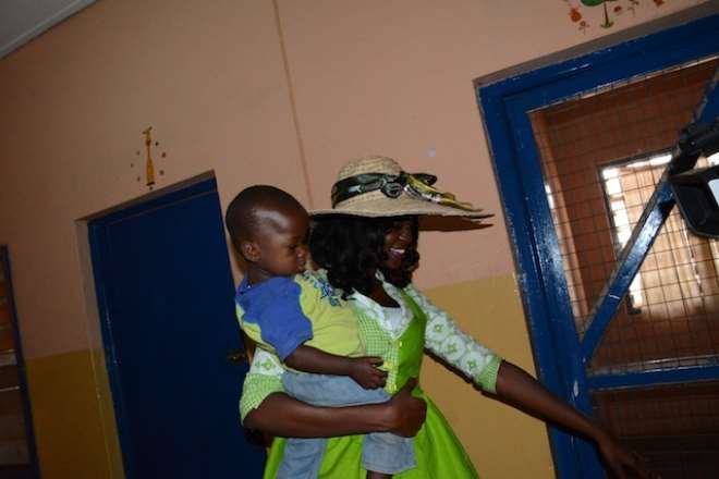 Miss Ghana 2013 Donates To Tamale Children's Home