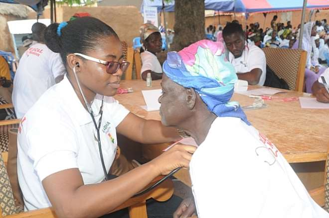 Lordina Foundation And Help Africa Foundation Undertake Joint Medical Mission In Gambaga