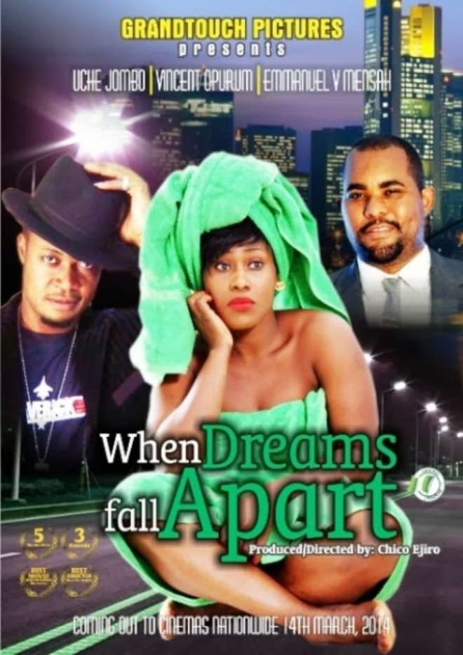"Uche Jombo Is Hot And Sexy In ""When Dreams Fall Apart"""