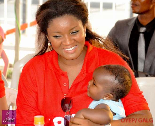 OMOTOLA FETES LESS PRIVILEGED AT NEW OFFICE COMPLEX