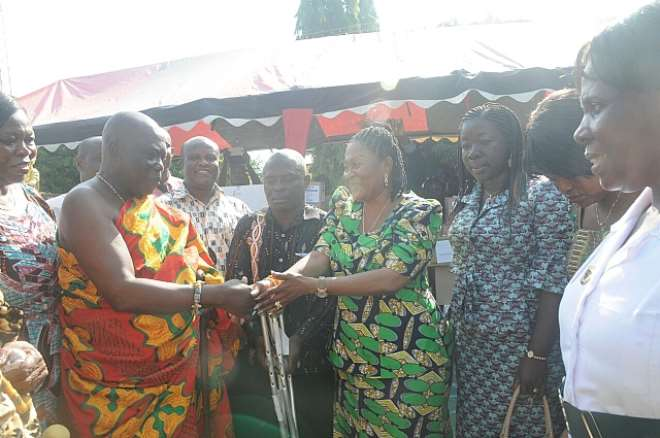 Lordina Foundation takes medical supply outreach to north of Volta region