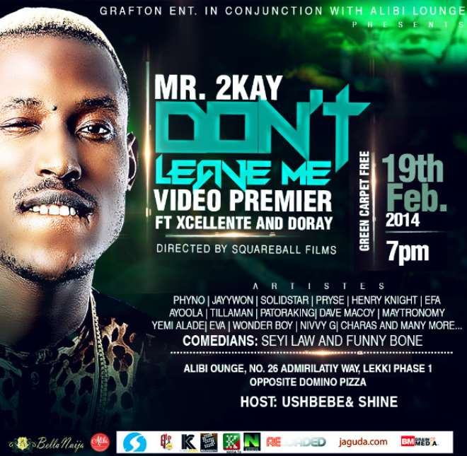 Mr. 2kay To Premiere Dont Leave Me Video With Star Studded Event