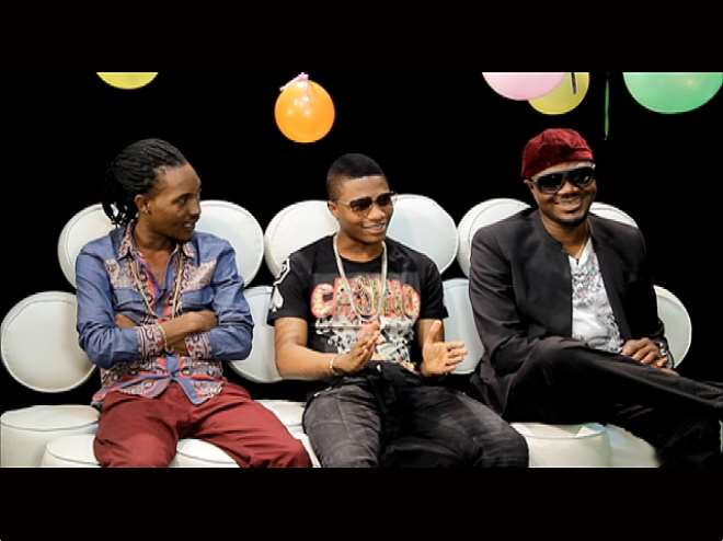 DJ JIMMY JATT, WIZKID, JESSE JAGZ CELEBRATE WITH MTV AS OFFICIAL NAIJA TOP 10 CLOCKS ONE!