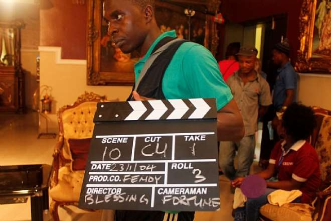 Nse Ikpe Etim, Kalu Ikeagwu, Blossom Chukwujekwu Team Up In Upcoming Nollywood Movie; The Green Eyed