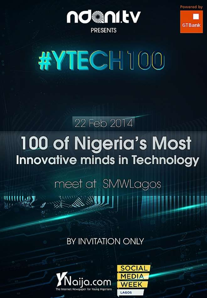 GTBanks Ndani TV To Host 100 Of The Most Innovative In The Nigerian Tech Space At Social Media Week Lagos 2014