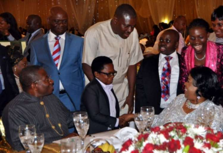 <b>Nigeria First Lady Patience Jonathan Admits Undergoing Nine Surgeries In One Month As Lavish Thanksgiving Party Shuts Down Abuja</b>