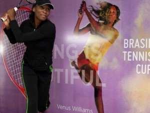 Tennis : Venus landed in Florianopolis -Video