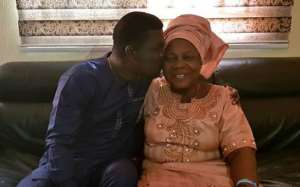 Comedian, Seyi Law Celebrates Mother 73rd Birthday