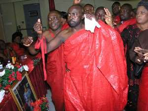 Ghanaians Pay Their Last Respect To Sister Mary