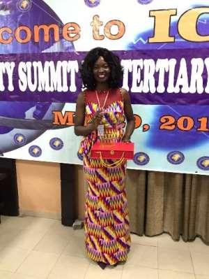Ghanaian woman picks international award in security management