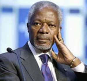 Tribute By Prof Ernest Aryeetey To The Late Kofi Annan