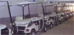 Stretcher Cars For Ghana 2008 Withdrawn