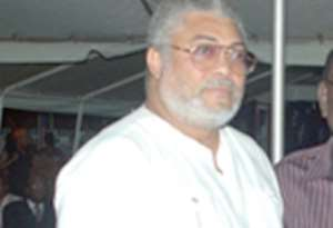 Why Army Chief Killed. Rawlings Tells Story