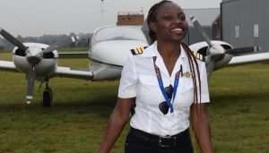 Meet Ghana's Youngest Female Pilot