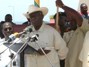 Kufuor likely to win a second term