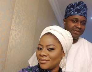 Actor, Femi Adebayo Celebrates 2nd Year Wedding Anniversary