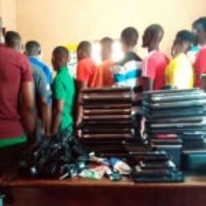 Nigerians Rounded Up In Crime Combat By Police