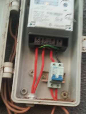 The illegal connection meter