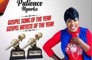 GMA UK: Patience Nyarko Beats Joe Mettle to win Gospel Artiste of the Year