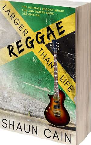 Reggae Larger Than Life, First Ever Reggae And Dancehall Fun And Games Book Released