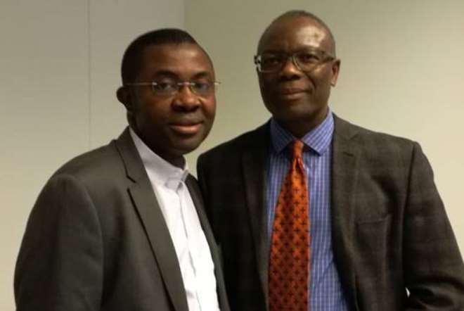 Francis(left) Tete Kobla(right)