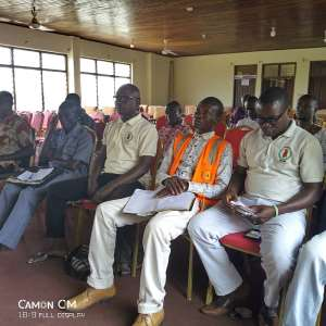 NADMO organizes a day seminar on climate change in Aowin