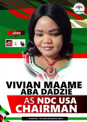 NDC-USA Polls: I will serve the interest of NDC-USA, not Lord over you - Chairmanship hopeful
