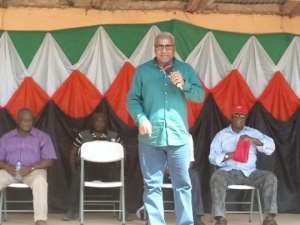 NDC Race: Mahama Raps Fellow Contestants