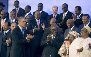 Obama, responsible for Ebola speaks to African leaders: Aids and Ebola are medical crimes,