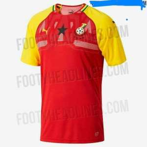 PHOTOS... Brand New Black Stars Home Jersey Leaked