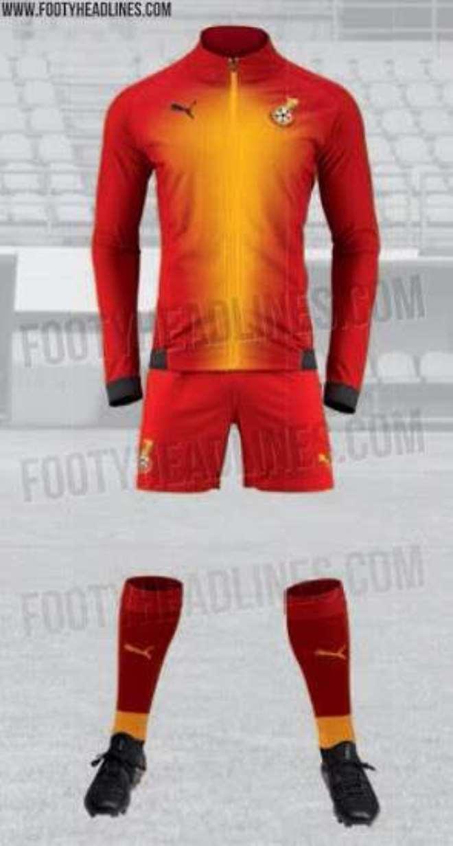 uk availability bebce 03337 Ghana: PHOTOS... Brand New Black Stars Home Jersey Leaked ...