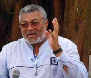 Rawlings Takes Back NDC – John Mahama Reduced to Kubolor Boy