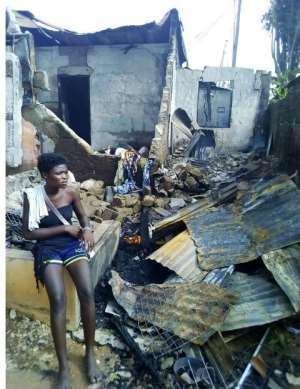 Odorkor Fire Has Displaced 24 People
