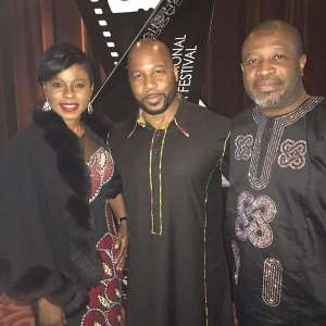 Danny Glover, Bolanle Austin-Peters, Steve Gukas At Screening of 93Days In Chicago