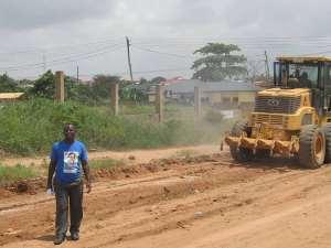 Hon. Tina Mensah Lobbies Assembly To Repair Bulemin Road
