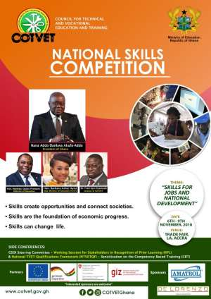 TVET Institutions Gear Up For First National Skills Competitions In Accra