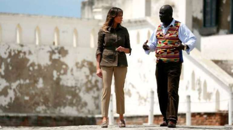 Melania Trump arrives in Malawi tomorrow