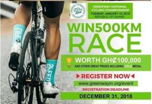 Registration Opens For 2019 Greenway Cycling Competition