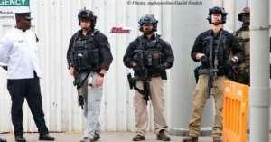 Ghana Police Vs Melania Trump's Security