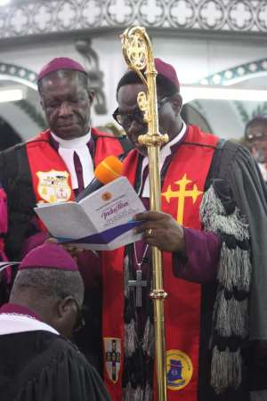 Methodist Church inducts new Presiding Bishop into office in Cape Coast