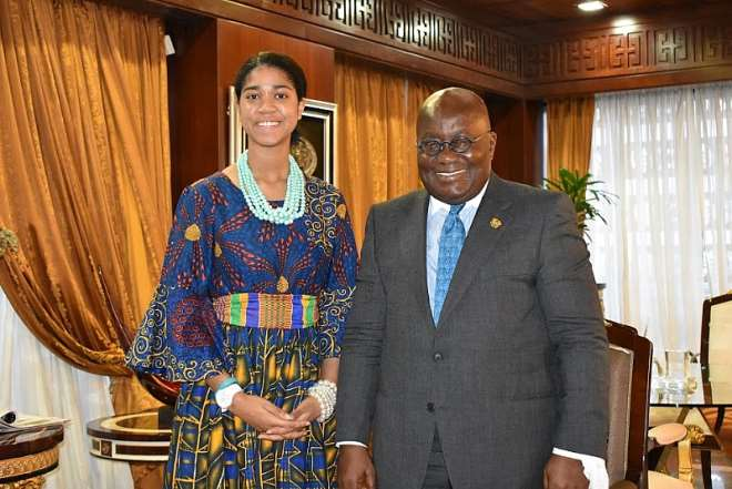 Welcomed To Ghana by President Akuffo Addo